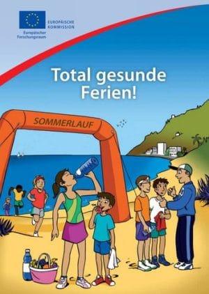 Kinderbuch Total gesunde Ferien