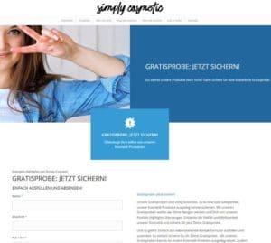 simply cosmetics gratisprobe