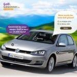 VW Golf Gewinnspiel