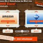 1000 Euro Gutschein Gewinnspiel