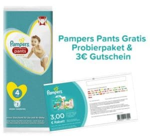 Pampers Pants Produktprobe