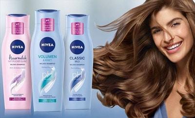 nivea shampoo gratis probe